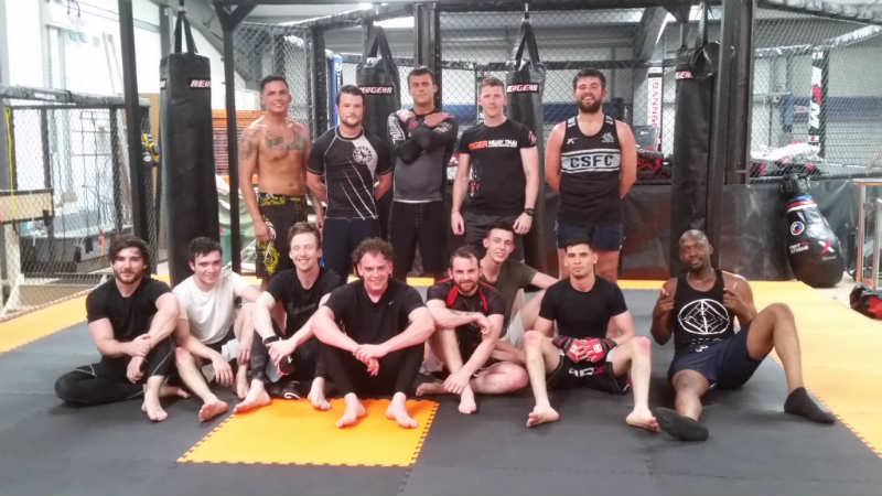 MMA in Cardiff