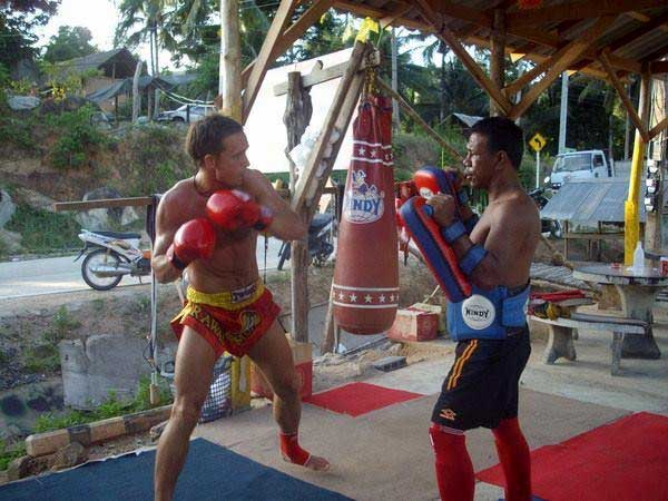 Muay Thai with Aurimas