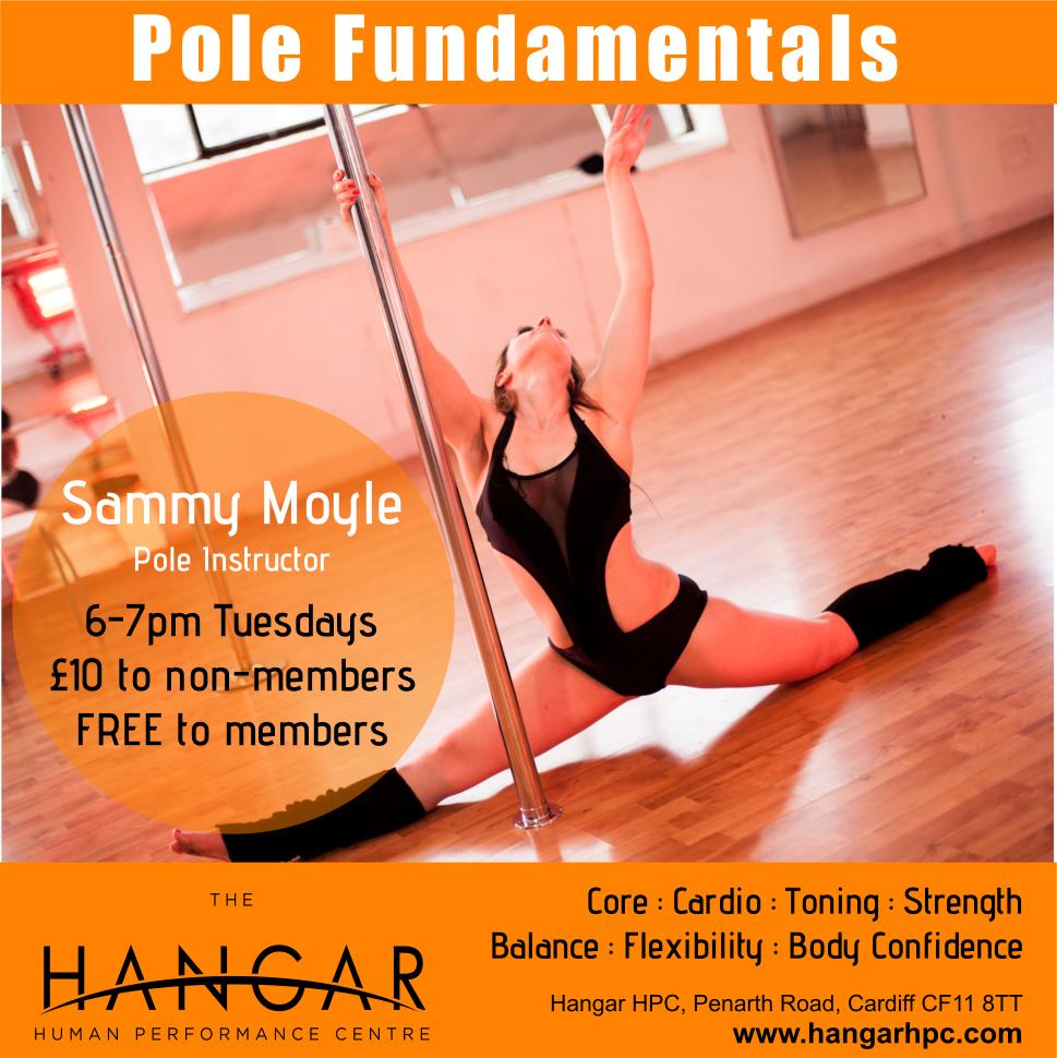 Pole Classes at The Hangar