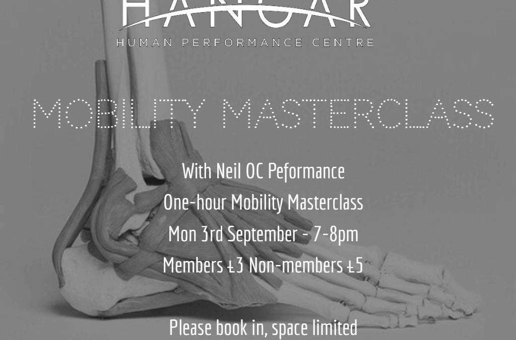 Mobility Masterclass