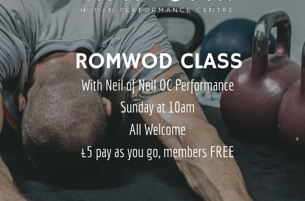 RomWod Special This Sunday