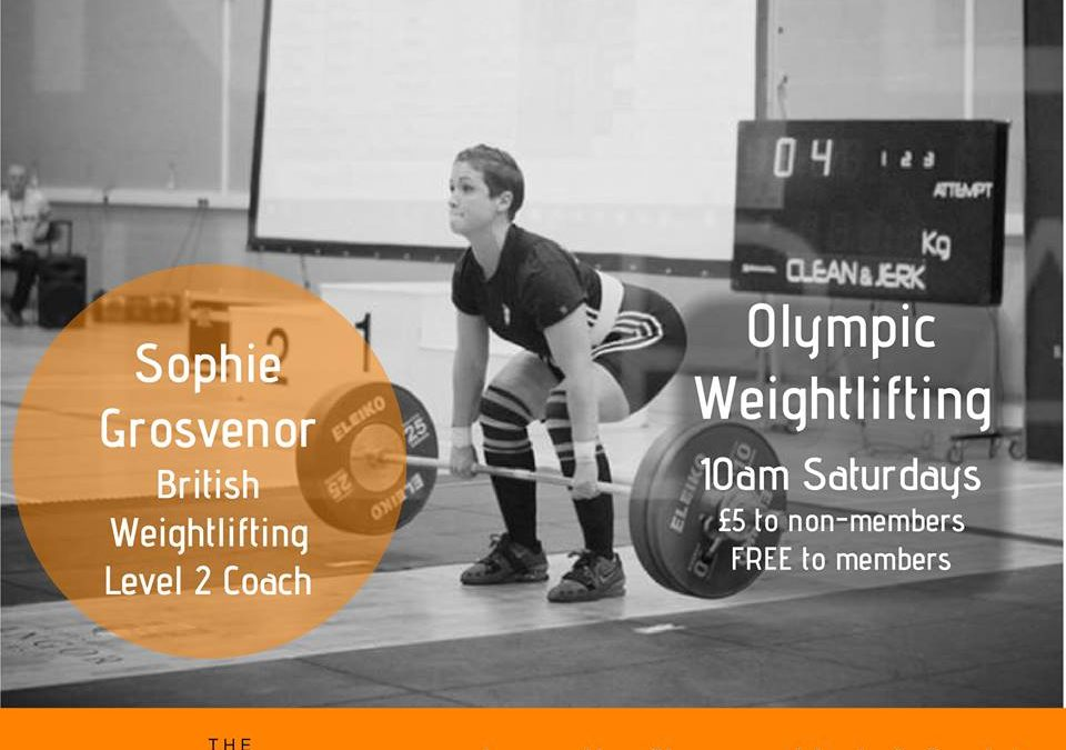 New Olympic Lifting Class